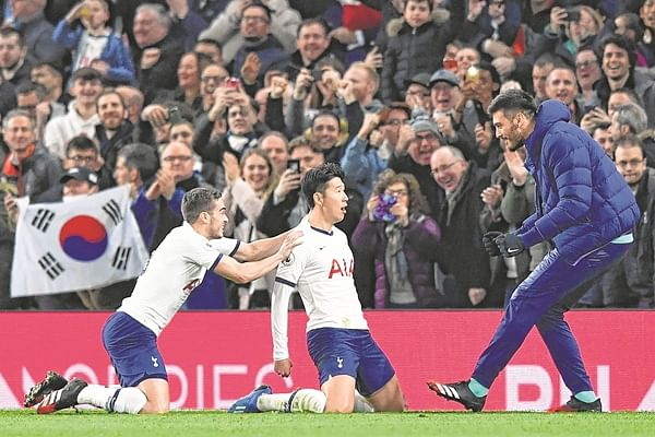 Debutant Steven, Son score goals as Jose Mourinho's boys snatch a 2-0 win
