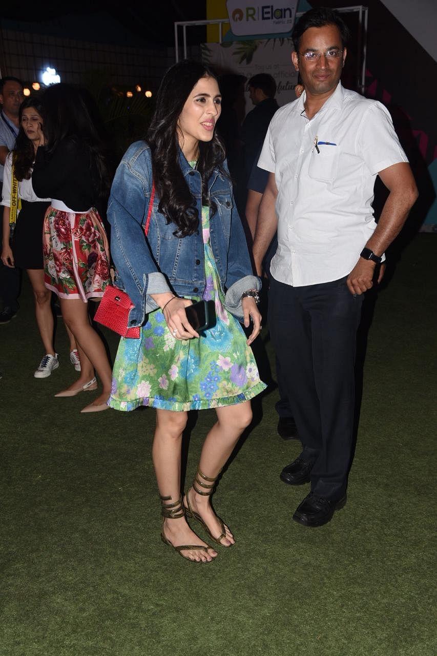 Shloka Mehta at Jio Garden, Mumbai