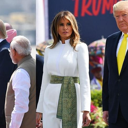 Namaste Trump: Melania ditches stilettos, Ivanka sports floral dress for their India visit