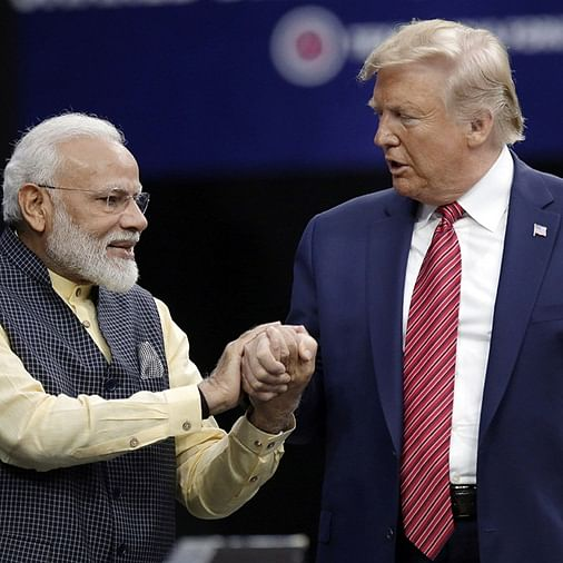 'Modi, Trump mural not up to mark': Ahmedabad NGO removes mural ahead of US President's India visit