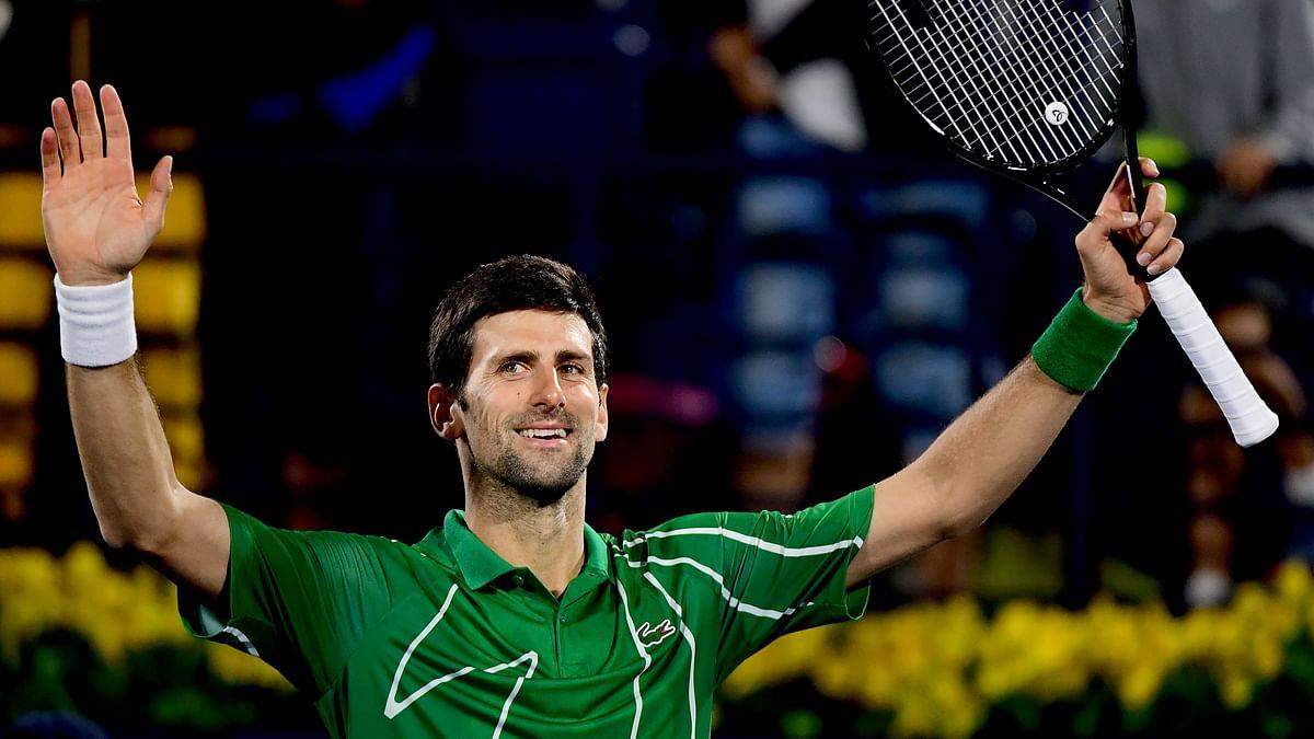 After Roger Federer, Novak Djokovic donates 1M Euros to fight coronavirus outbreak