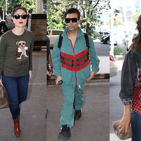 In pics: Kareena Kapoor Khan, Karan Johar, Gauri Khan and others keep their fashion foot forward at the airport