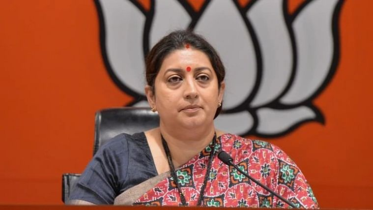 UP: Union Minister Smriti Irani buys land in Amethi for Rs 11 lakh