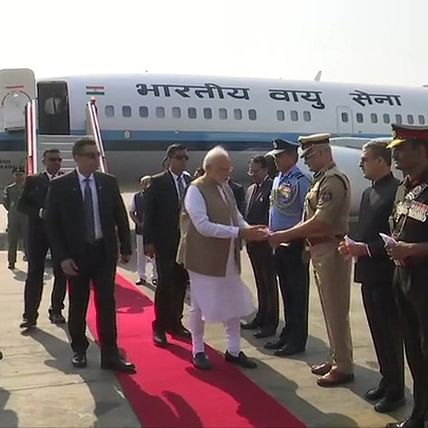Donald Trump India visit Updates: Hum raaste mein hai, Trump tweets in Hindi; PM Modi arrives in Ahmedabad