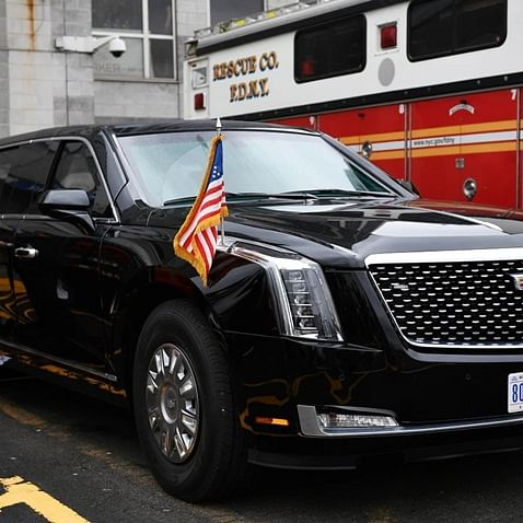 'The Beast': All you need to know about Donald Trump's bomb-proof car