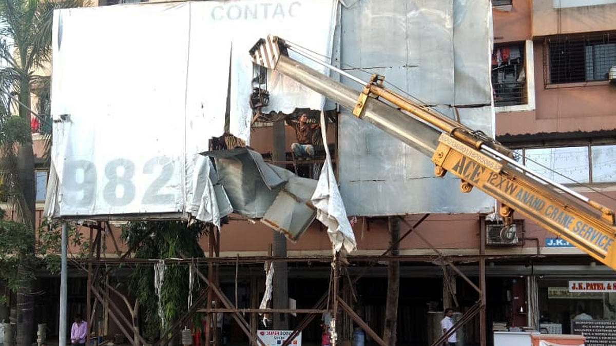 Mumbai: Mira Bhayandar Municipal Corporation cracks whip against defaulting hoarding sites