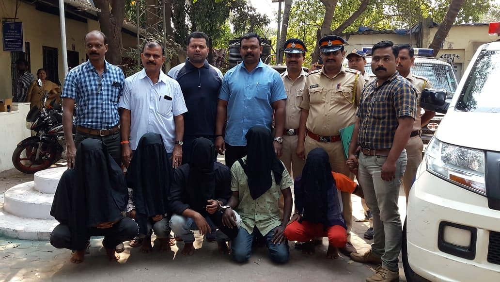 Mumbai: 5 men from Uday Pathak's gang held for firing in Kurar; shooter still on the run