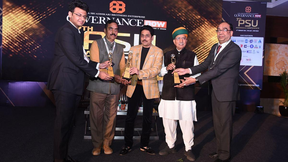 BEL wins 3 'Governance Now' awards