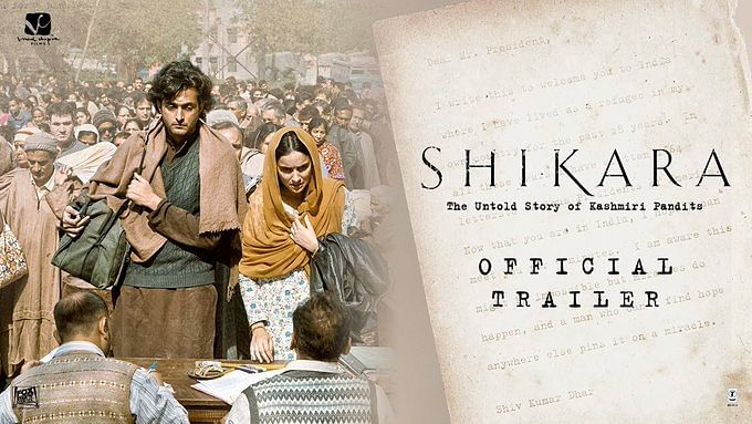 "Plea against ""Shikara"" release filed in Jammu and Kashmir HC"