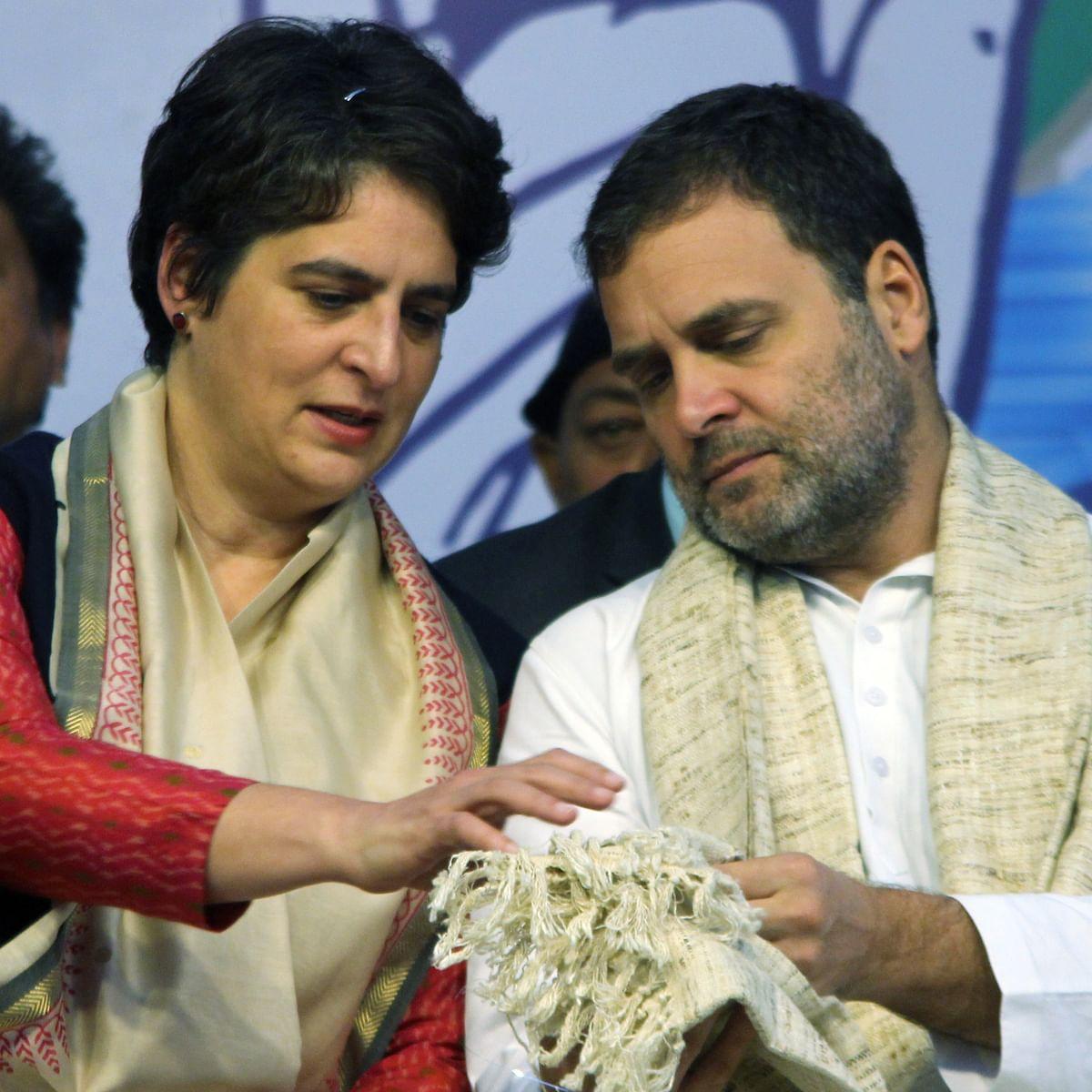 'BJP is weakening the constitution': Rahul, Priyanka Gandhi criticise Centre over  SC verdict on reservation