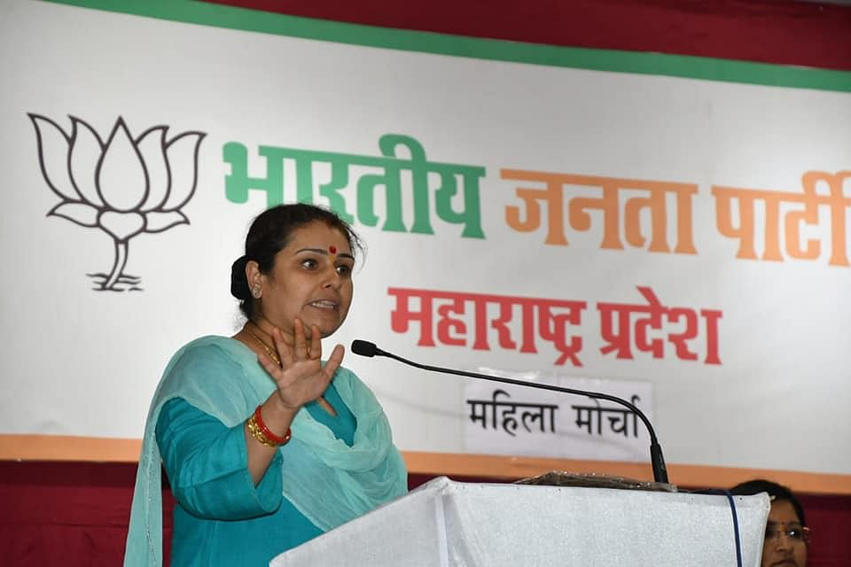 'Morally bankrupt party burns down city because they couldn't win elections': Twitter slams Priti Gandhi for her #DelhiBurning comment