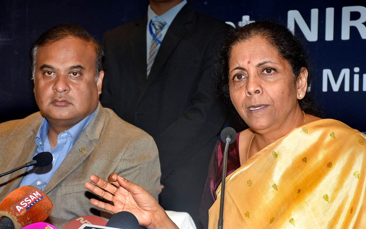 Raw material shortage likely in 2 months, says FM Sitharaman