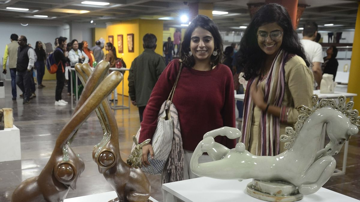 Bhopal: Minister Vijaylaxmi Sadho inaugurates 11-day International Ceramic expo