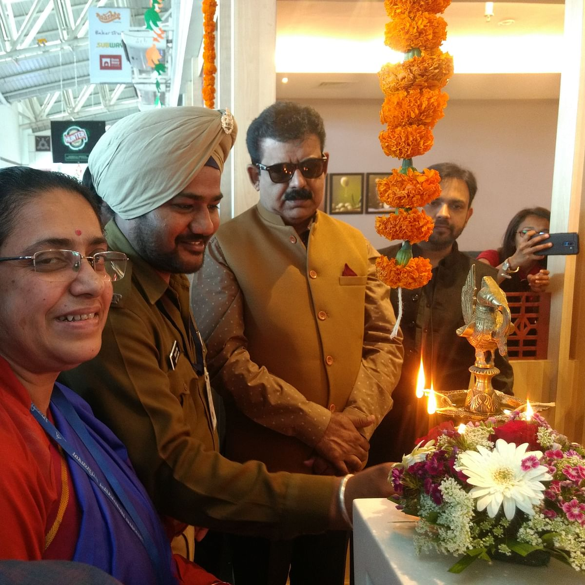 First in MP: Business lounge opens at Indore airport