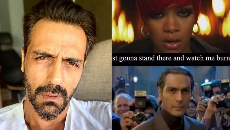 'Don't mess with Mikey': Arjun Rampal shares his own meme from 'Om Shanti Om' featuring Rihanna