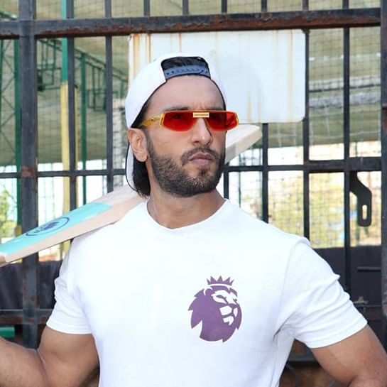 Reel to Real: Ranveer Singh shows off amazing batting skills at charity match; watch video
