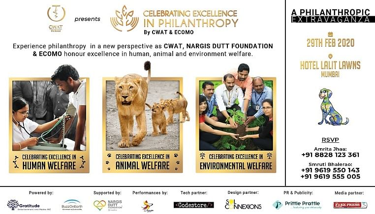 CWAT and ECOMO to organize 'Celebrating Excellence in Philanthropy' in Mumbai