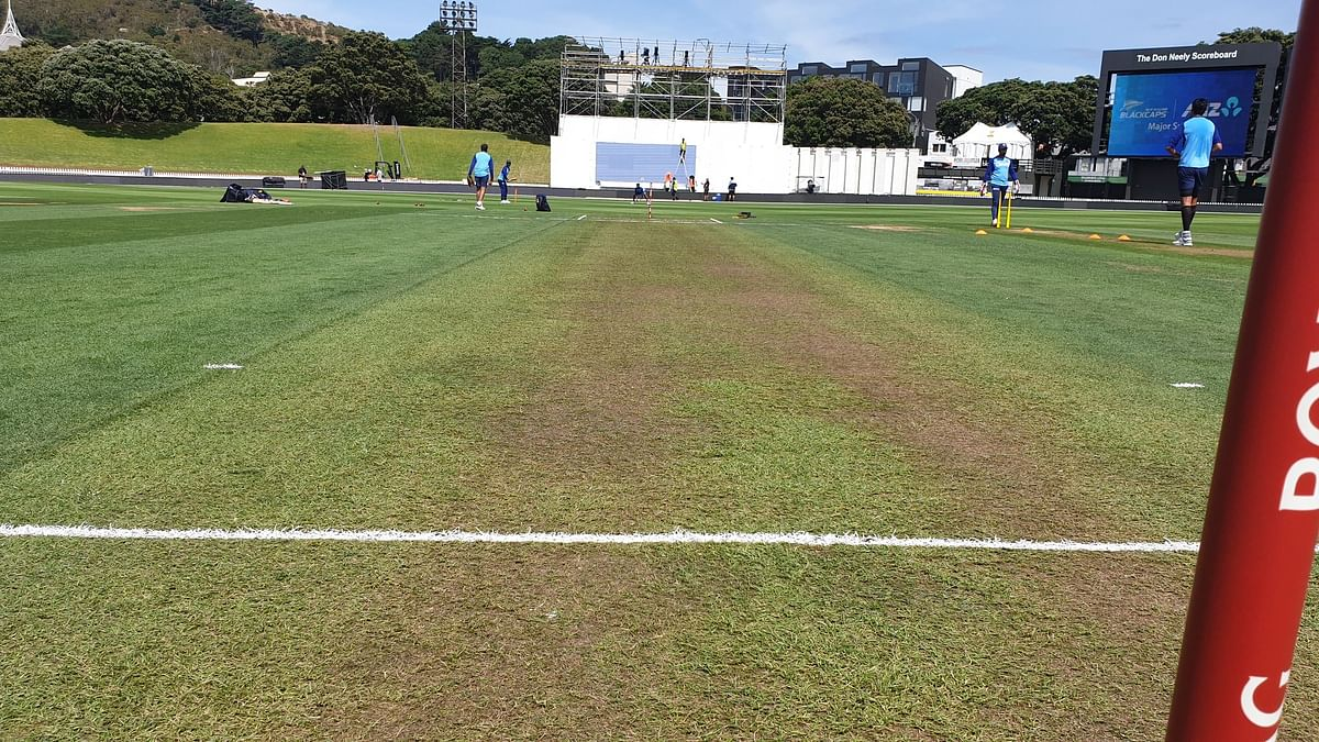 'Pitch kidhar hai?' Indian fans alarmed after BCCI shares photo of Basin Reserve's green pitch ahead of first Test