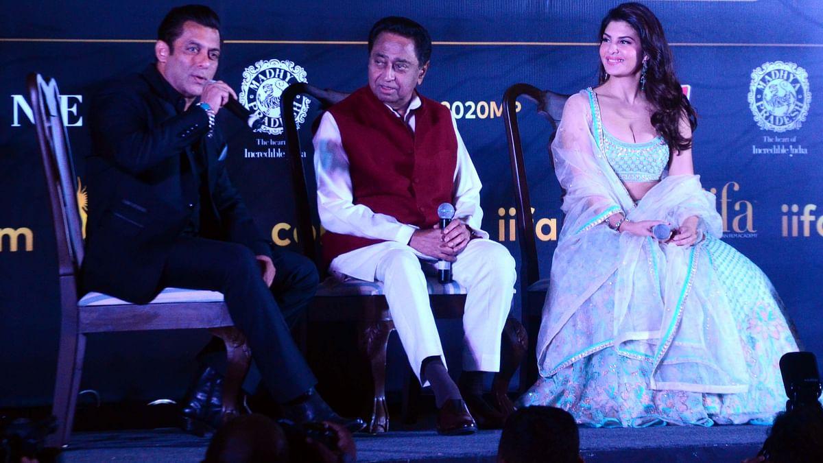 Salman, Fernandez oblige their fans in Bhopal