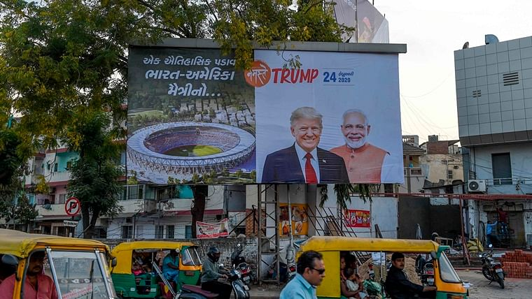 Donald Trump Nagrik Abhinandan Samiti -- the unknown group organising Ahmedabad's 'Namaste Trump' event