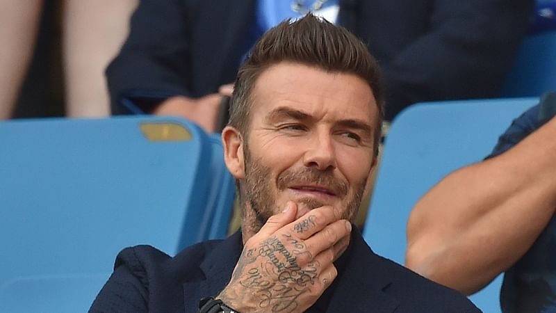 Down memory lane: David Beckham reveals he has preserved 1997 train ticket that Victoria used to give him her number