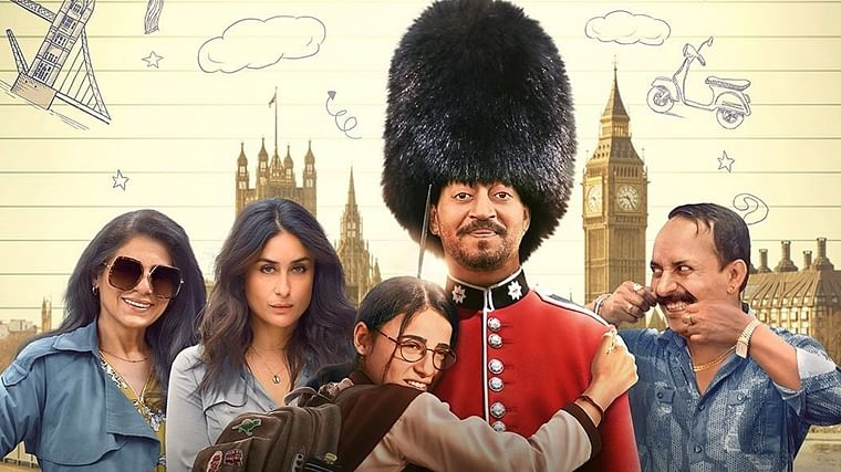 After a short theatrical run due to COVID-19, Irrfan Khan's 'Angrezi Medium' premieres online
