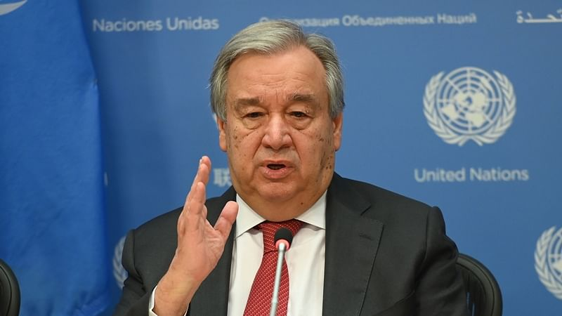 UN chief  Antonio Guterres calls for international solidarity to find vaccine accessible to all