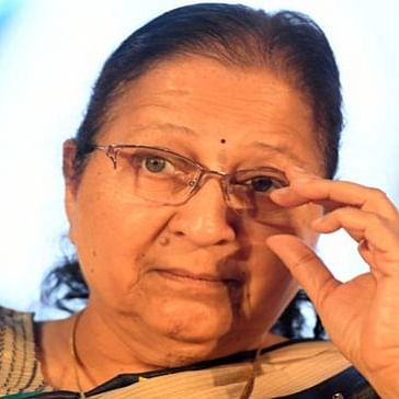 Indore: Can't home deliver veggie packs always, need to lift lockdown, says Sumitra Mahajan
