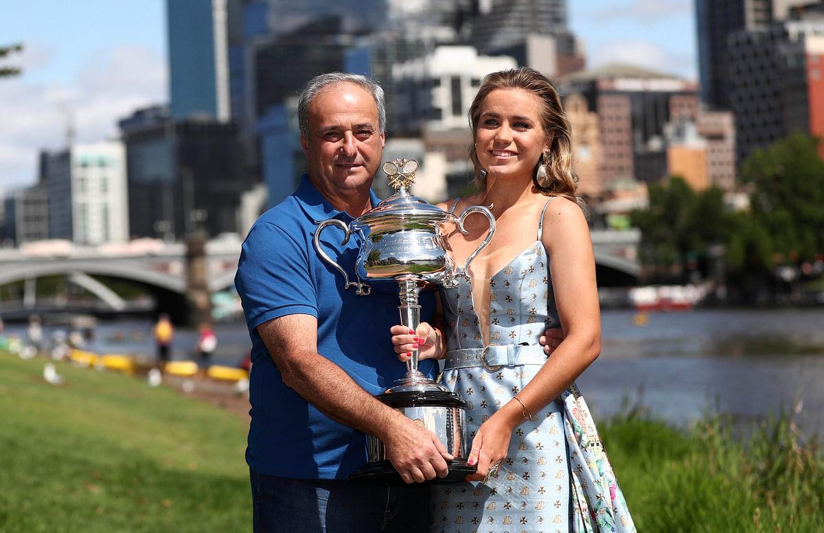 Meet Alex - the taxi driver who became Grand Slam winner Sofia Kenin's coach