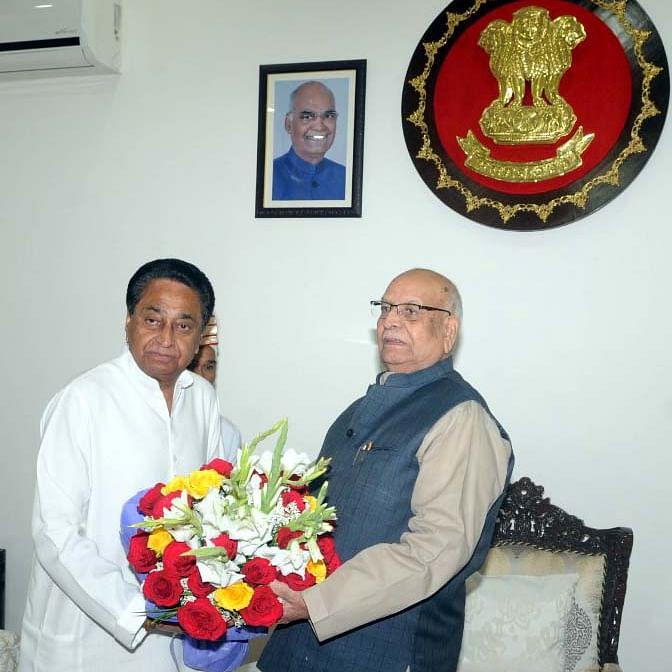 Madhya Pradesh: Kamal Nath meets Governor, says ready for floor test