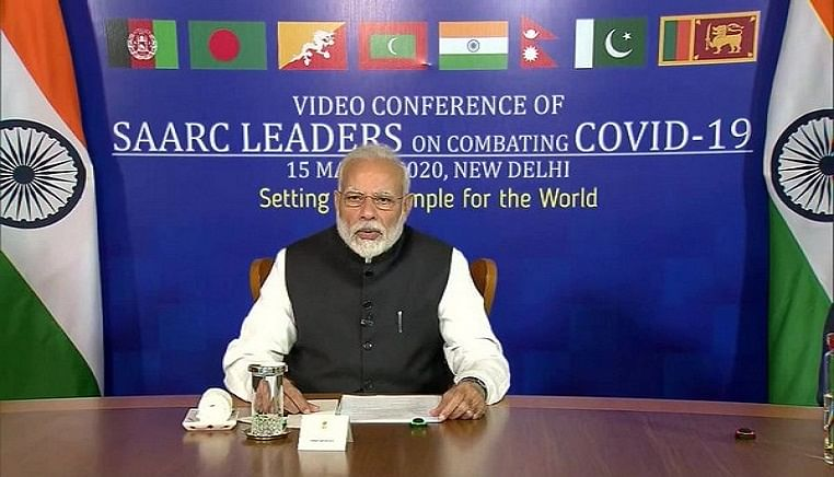 India plans to set up a common online platform for all SAARC nations to tackle coronavirus pandemic