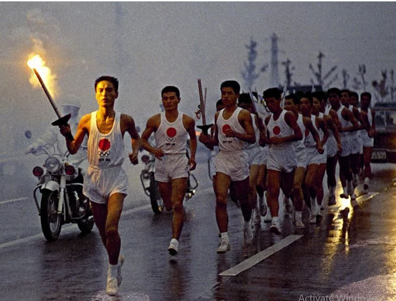 1964 Olympic torchbearer frets about virus-hit Olympic relay