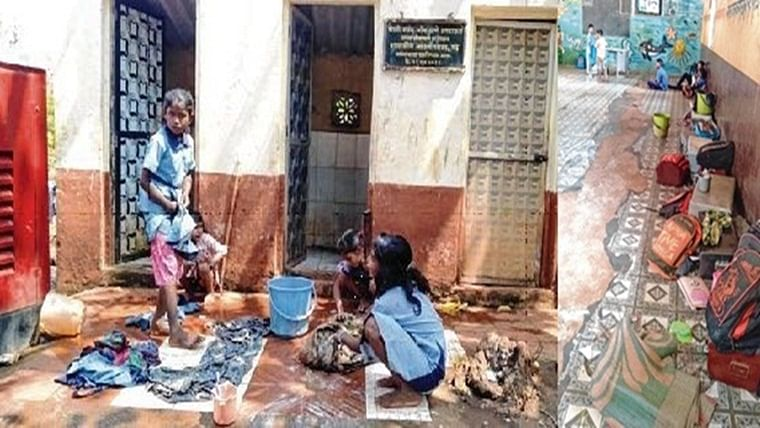 Mumbai: Classrooms function inside poultry farm after construction of new school structure gets delayed