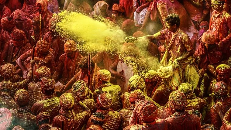 Check this place where Hindus and Muslims indulge in riot of colours to celebrate Holi