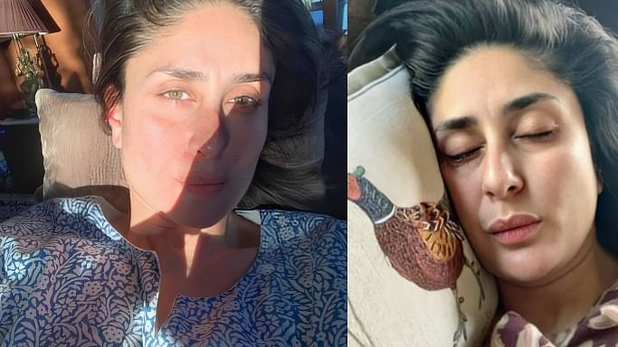 Kareena Kapoor Khan even sleeps with a pout, here's proof