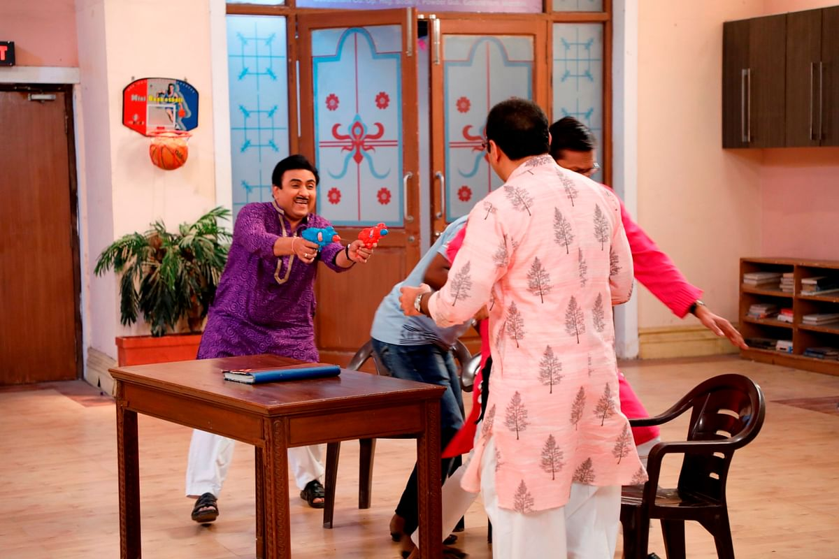 Taarak Mehta Ka Ooltah Chashma: Jethaa Lal has pre-Holi fun with Tapu Sena and others