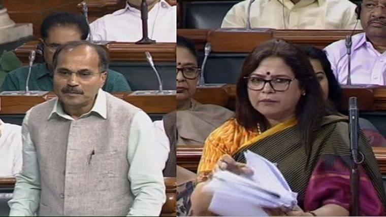 Meenakshi Lekhi launches scathing attack on Adhir Ranjan Chowdhury, reminds him of Sonia's Mussolini connection