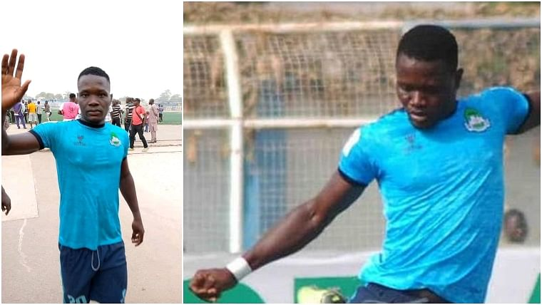 Nigerian footballer Chineme Martins collides with another player and collapses; dies later in the hospital
