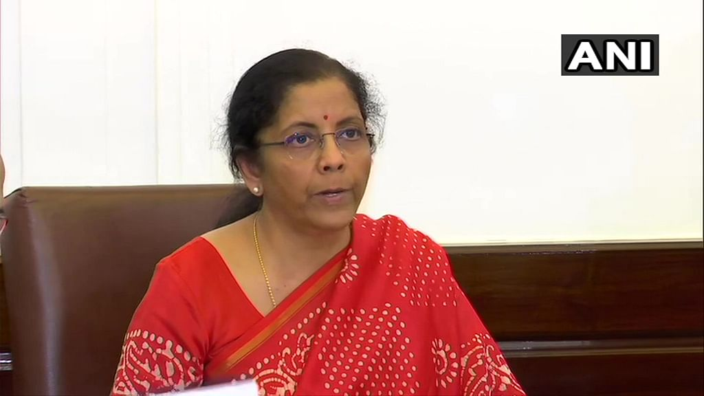 From ITR extension to filing GST returns: Highlights of Nirmala Sitharaman's address amid coronavirus outbreak