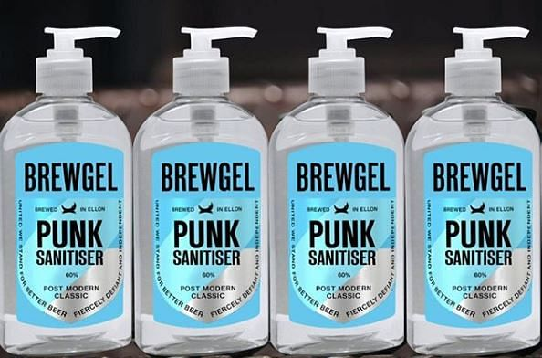 British beer giant, BrewDog  creates hand sanitiser