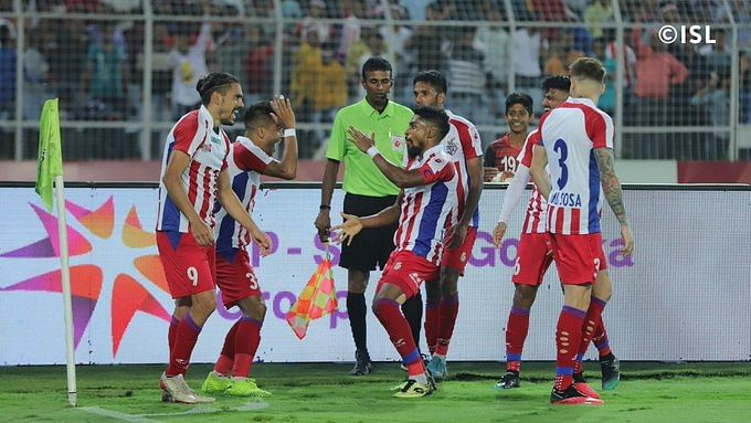 File picture from an ISL match