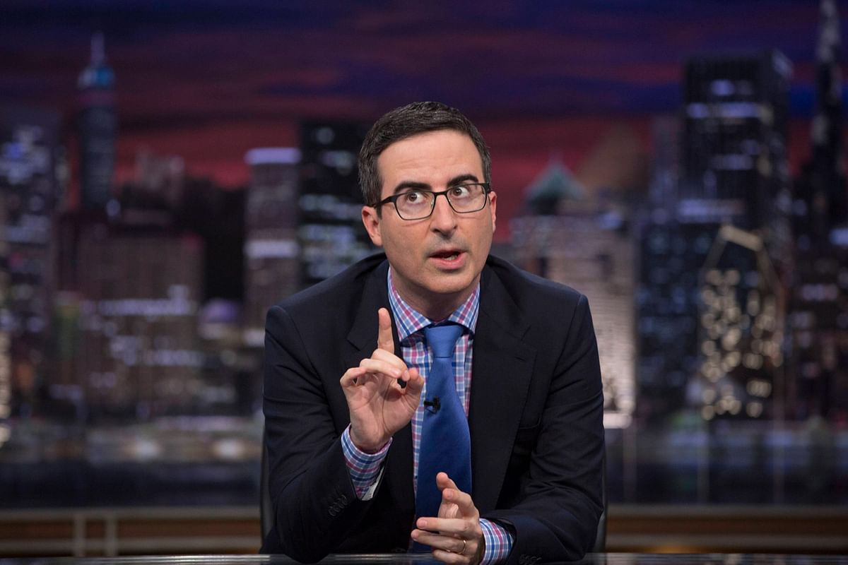 John Oliver didn't mince words during his show