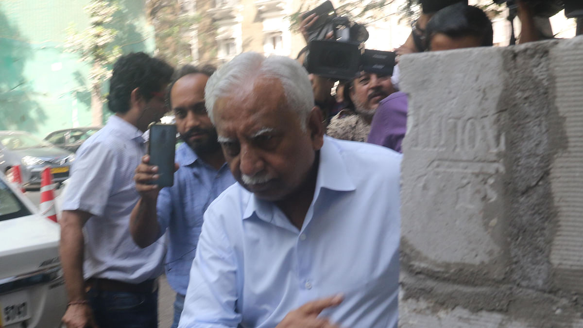 Mumbai: Naresh Goyal, founder of the now-grounded Jet Airways outside ED office