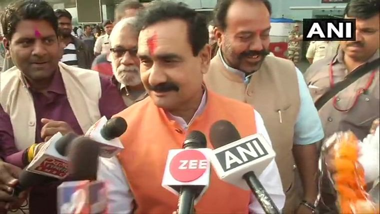 BJP leader Narottam Mishra, File Photo