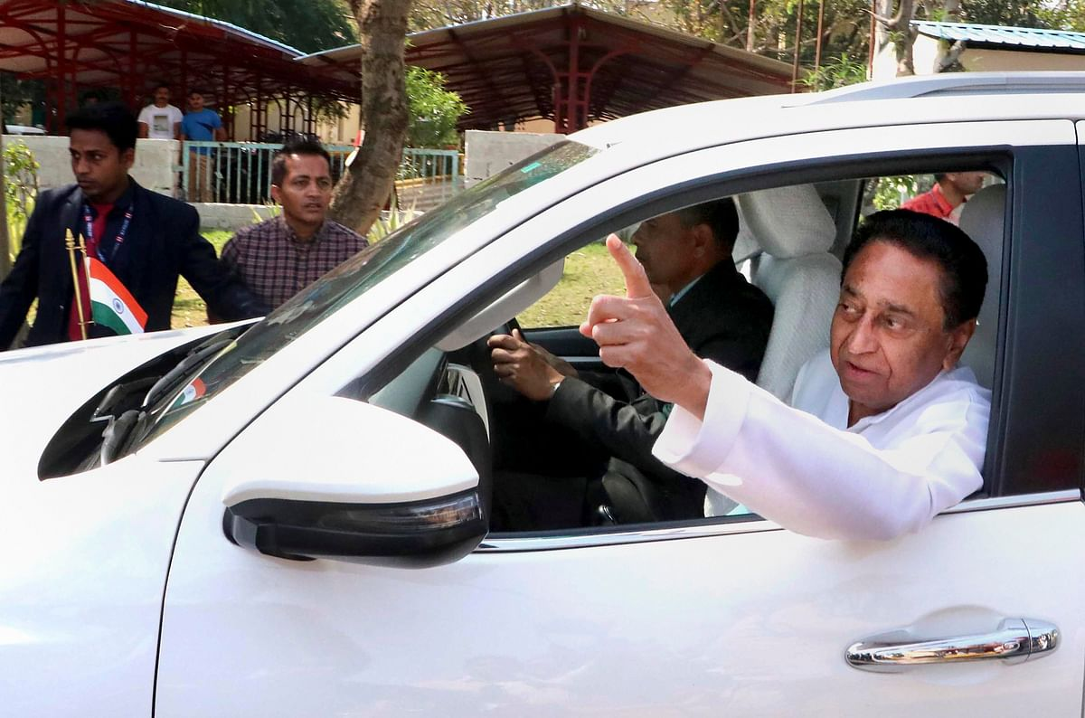 Madhya Pradesh: Afraid of by-poll results BJP trying to buy what they can get, says Kamal Nath