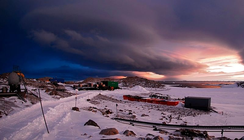 First ever heatwave in Antarctica