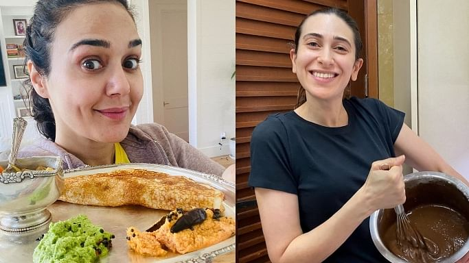 Quarantine Diaries: Preity Zinta's masala dosa to Karisma Kapoor's chocolate cake, celebs share pics of their lip-smacking meals