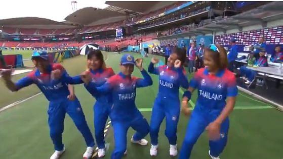 Dance like nobody's watching: Thailand's women cricket team's impromptu jig  in rain wins social media