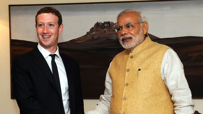 Mark Zuckerberg, PM Modi