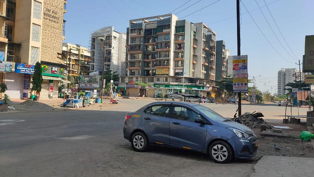 Visuals from Ulwe, Navi Mumbai.